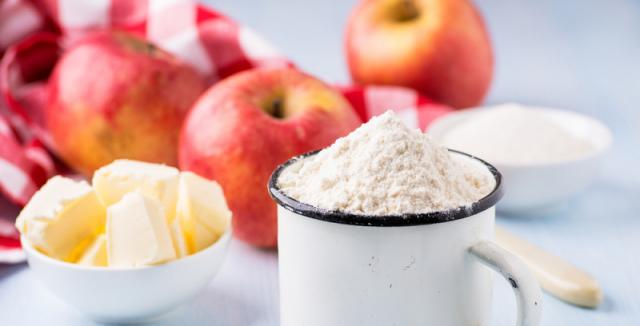Výsledek obrázku pro jablka mouka
