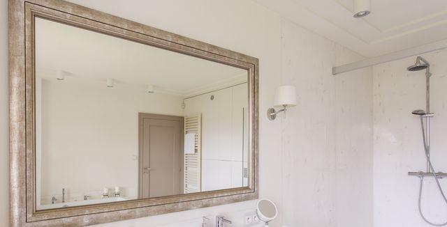 Do Koupelny Patří Velké Zrcadlo Klidně I Přes Celou Zeď