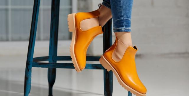 Dnes už gumáky vypadají jako běžné boty ff0588f89d